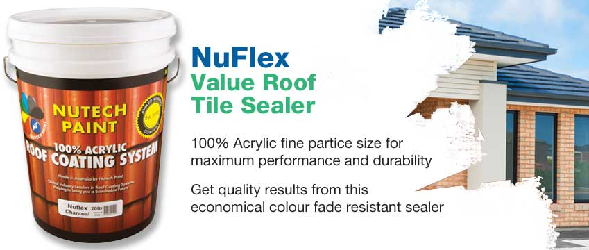 Nuflex Roof Tile Sealer Amp Paint Construction